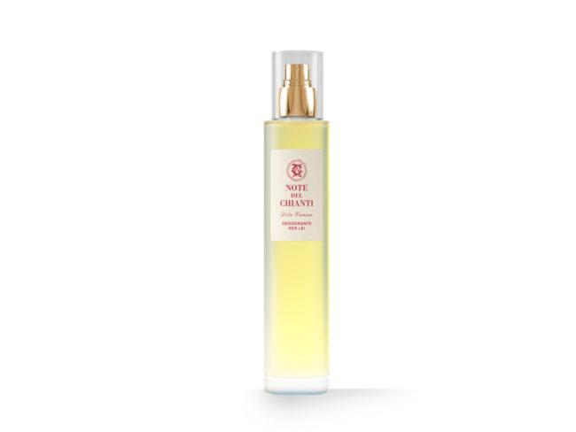 Dolce Carezza, un deodorante spray intimo per donna, pack di Note del Chianti