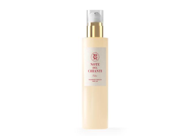 Shampoo doccia per donna Eden, prodotto e confezionato da Note del Chianti